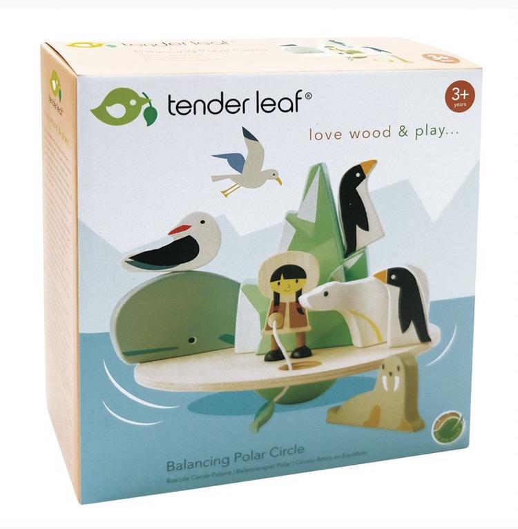 polar circle toy packaging