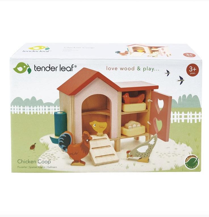 chicken coop packaging