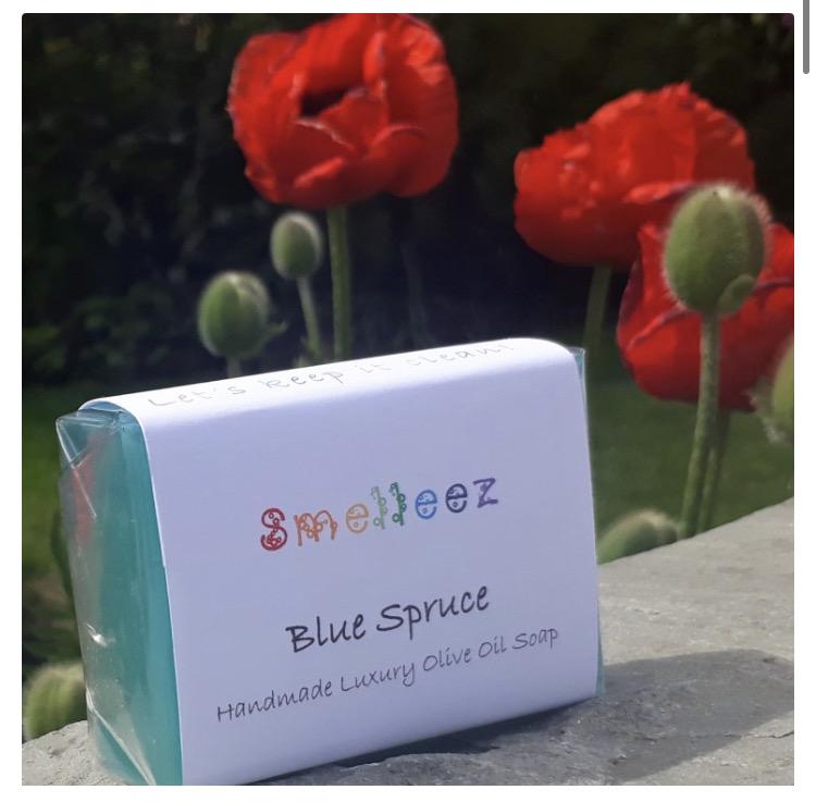 Blue Spruce Glycerin Soap